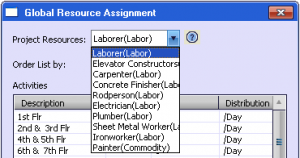 resources global dropdown