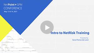 Intro to NetRisk Training